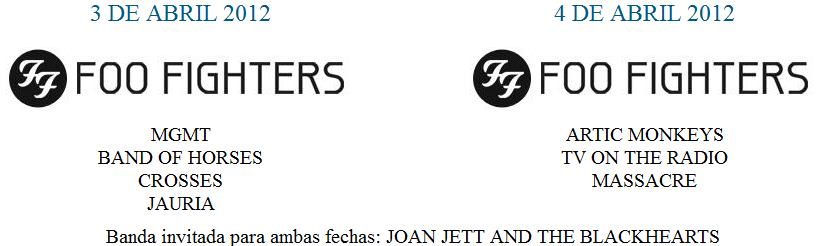 Foo Fighters na Argentina