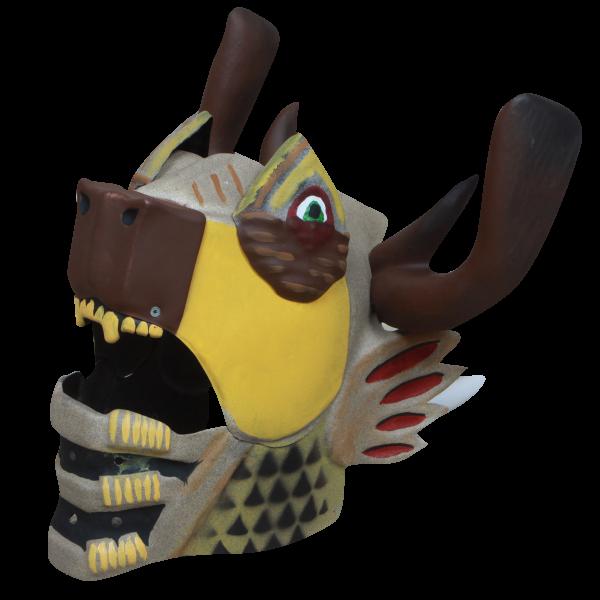 mastodon coloca máscara a venda