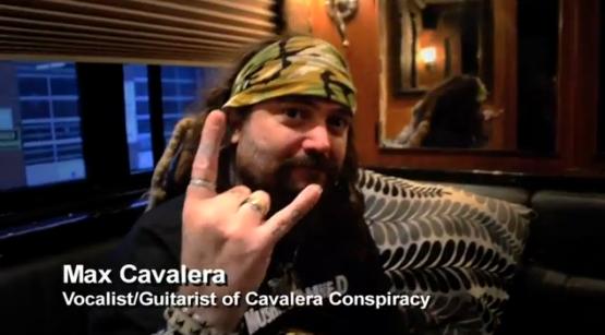 Max Cavalera durante entrevista no Canadá