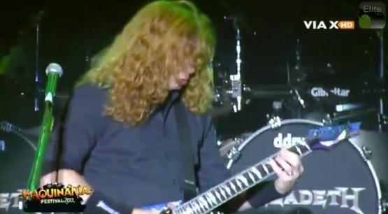 Megadeth no Chile