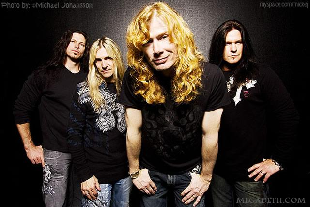 Assista ao Megadeth no talk show de Jimmy Kimmel