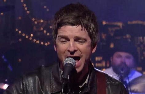 Noel Gallagher vai ao David Letterman