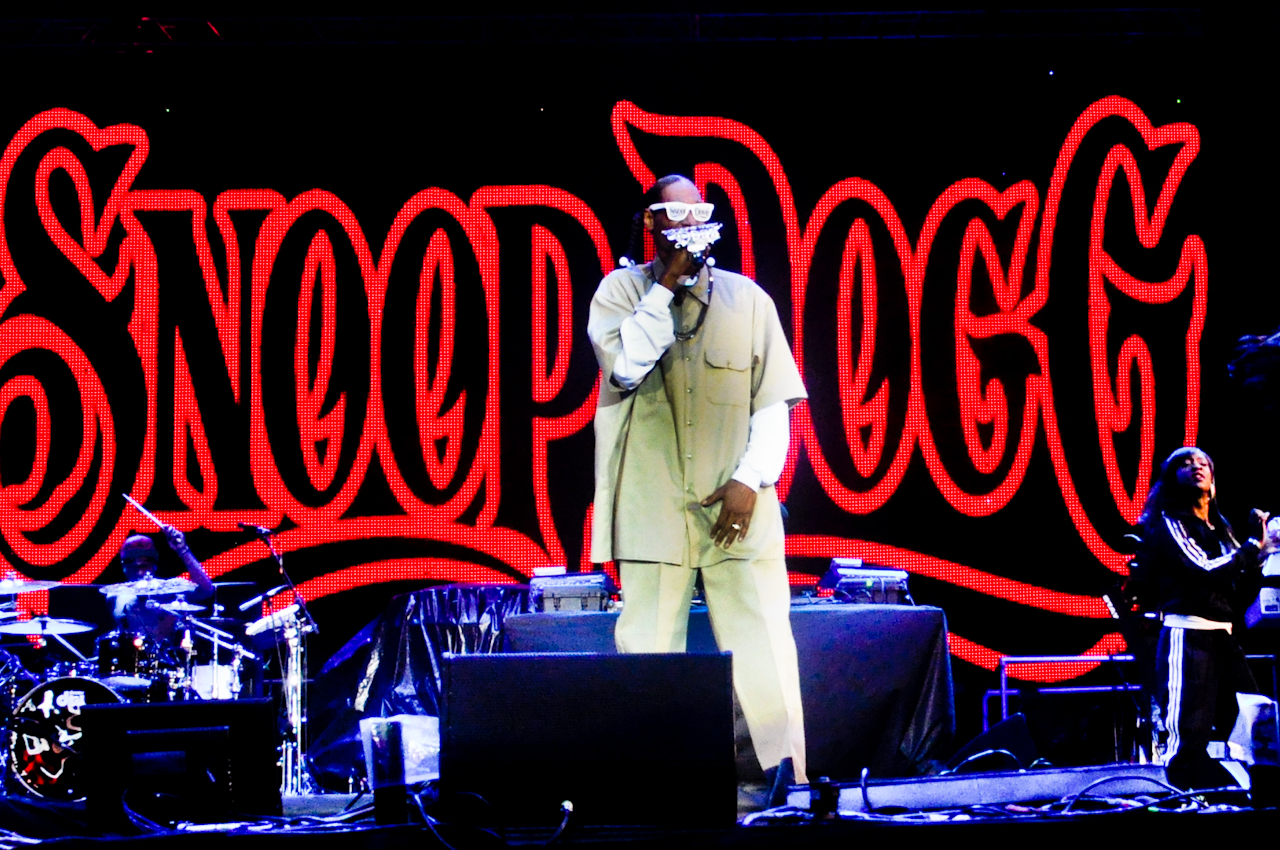 Snoop Dogg no SWU 2011