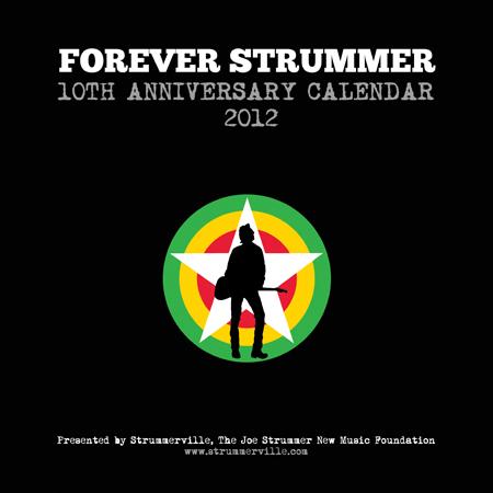 Calendário com Fotos Inéditas de Joe Strummer Será Lançado