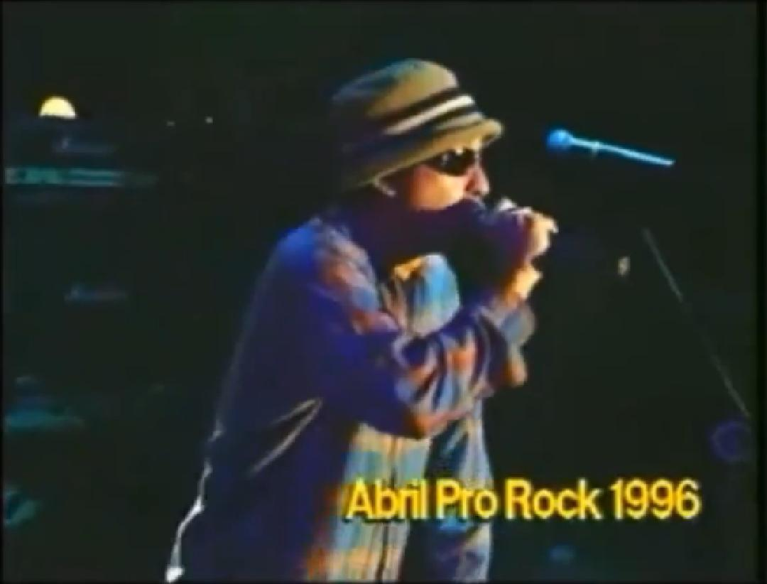 Chico Science e Nação Zumbi no Abril Pro Rock 1996
