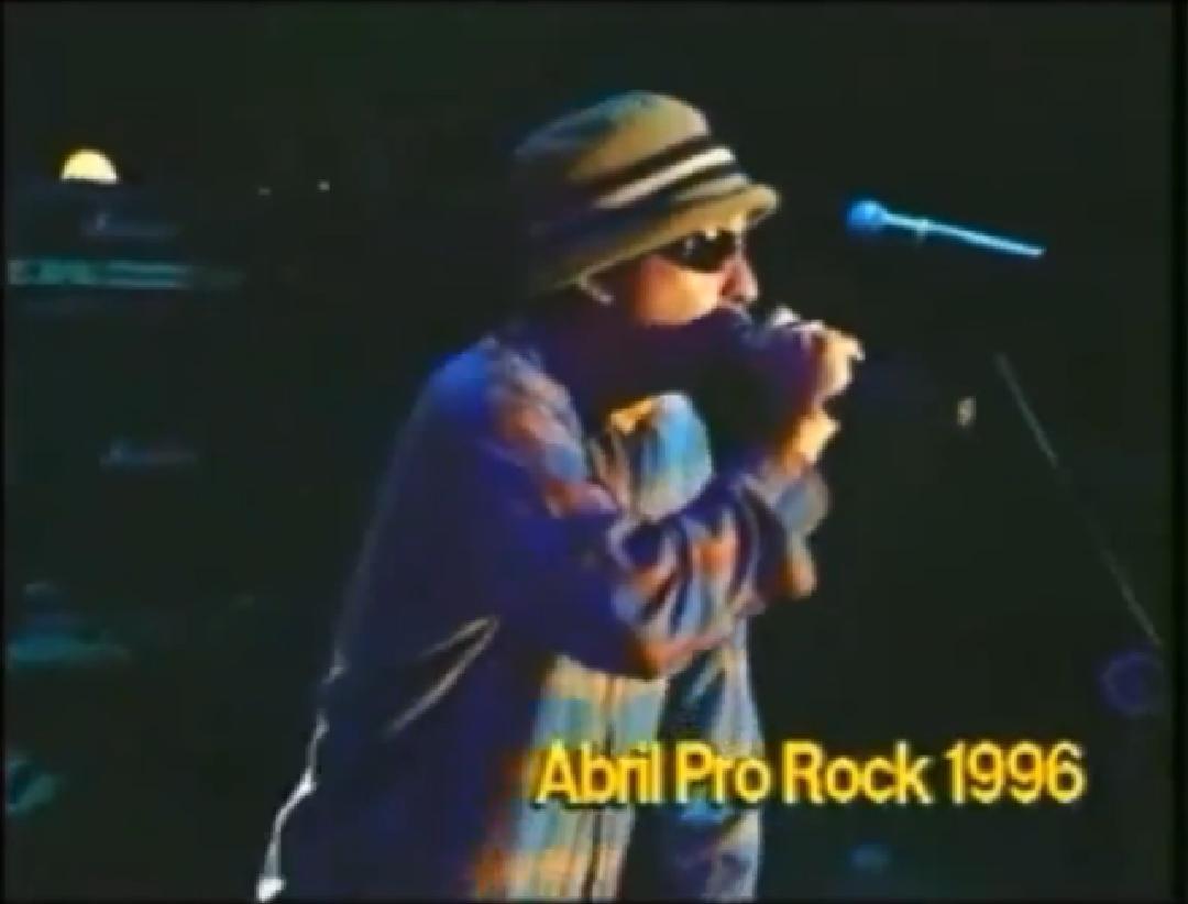 Chico Science e Nação Zumbi no Abril Pro Rock 1996
