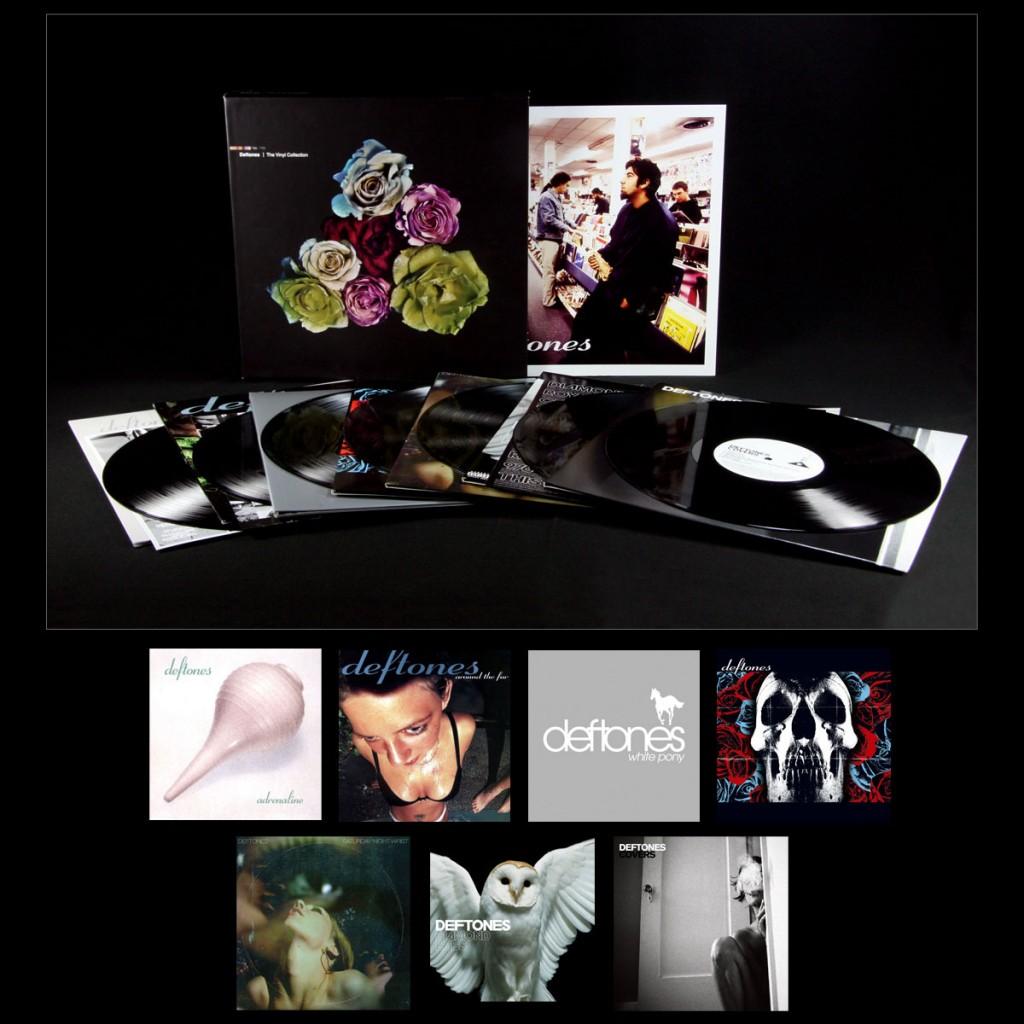 Deftones-a-coleção-de-vinil