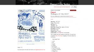 Fugazi Lança Site Com Shows Para Download