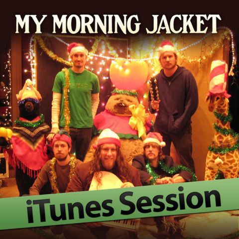My Morning Jacket Itunes Session 2011 EP cover