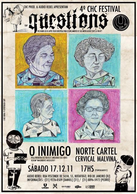 Quarta Edição do C.H.C Festival Acontece Nesse Sábado no Rio de Janeiro