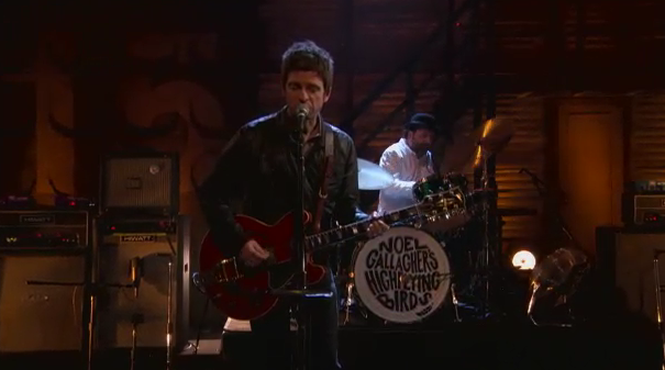 Noel Gallagher no Conan
