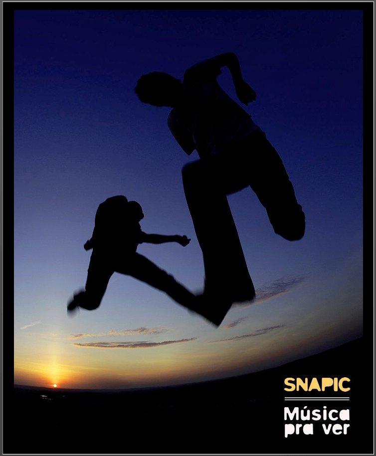 Capa do livro Snapic - Música pra ver
