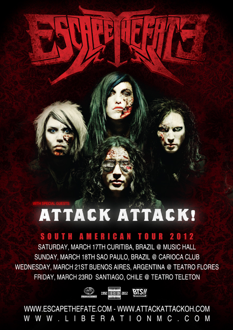 Escape The Fate no Brasil