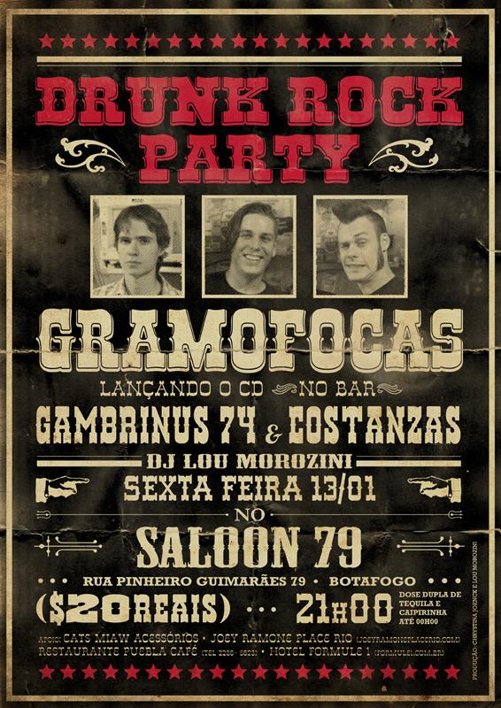 Resenha: Edição de Estreia da Drunk Rock Party (Rio de Janeiro)