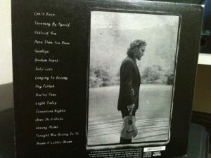 Eddie Vedder Ukelele Songs Traseira