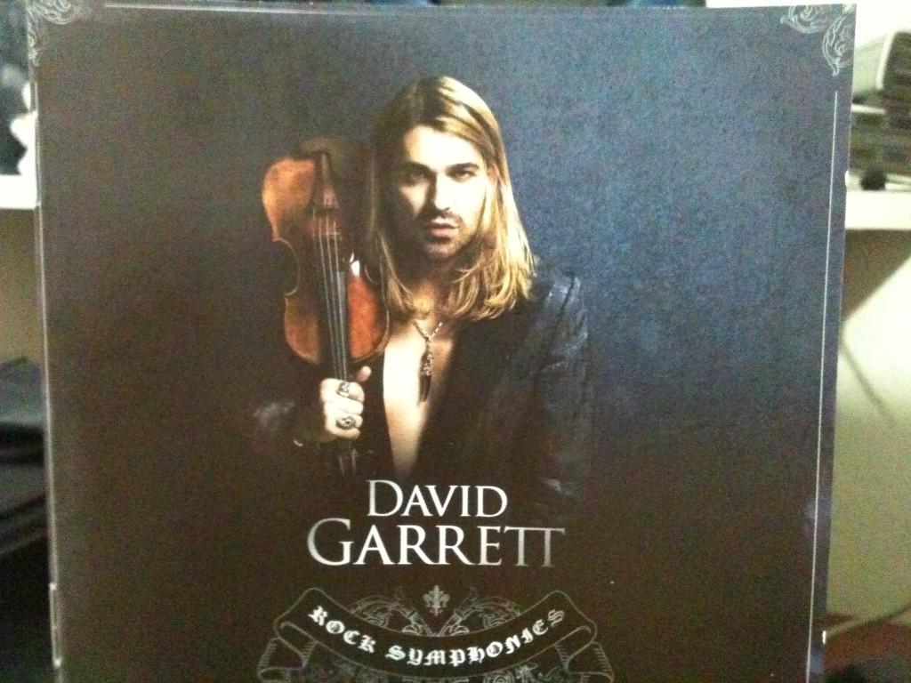 David Garrett Rock Symphonies Capa