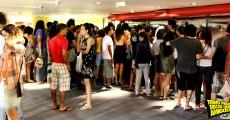 Público no show de lançamento do vinil de Moto Contínuo