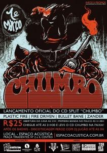 Lançamento do split Chumbo, no Rio de Janeiro