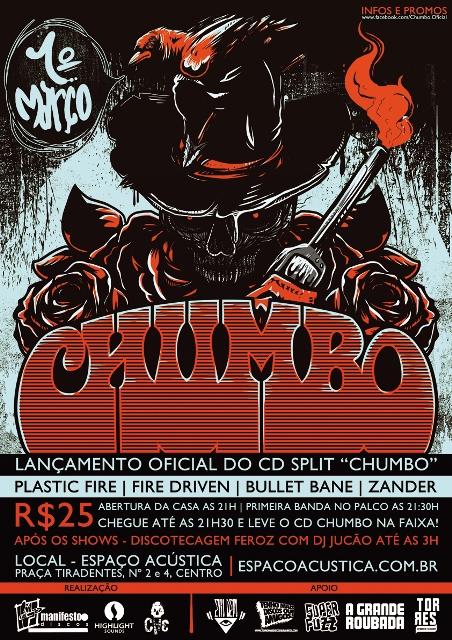 Resenha Lançamento do Split Chumbo No Rio de Janeiro (01-03-12)