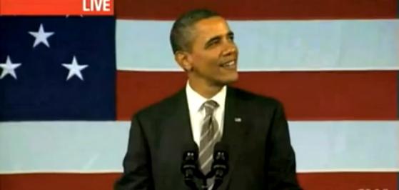 Barack Obama canta Al Green