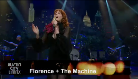 Florence And The Machine e Lykke Li no Austin City Limits
