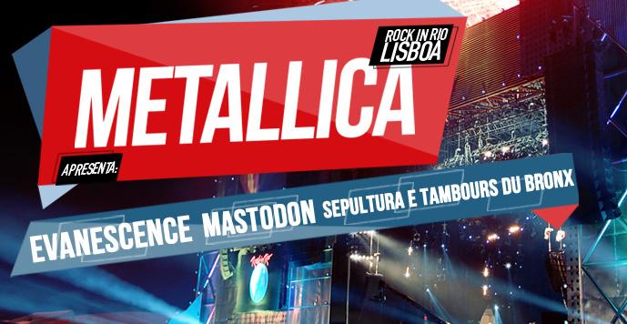 rock in lisboa confirma Sepultura