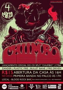Lançamento do split Chumbo, em Curitiba
