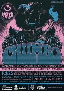 Lançamento do split Chumbo, em São Paulo