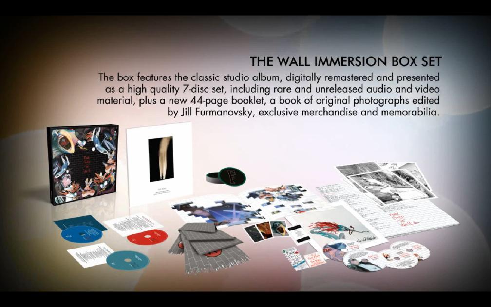 The Wall ganha duas novas edições especiais