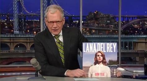 Lana Del Rey se apresenta no David Letterman