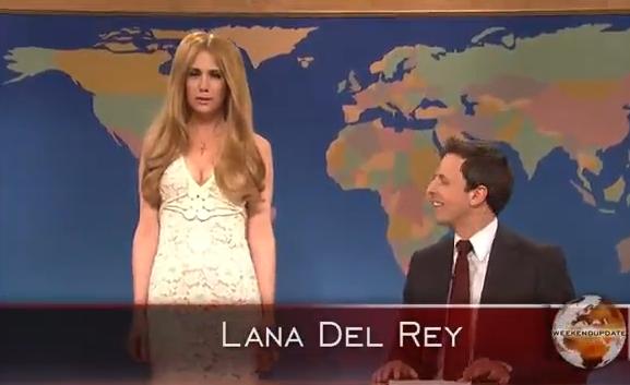 Saturday Night Live faz piada com Lana Del Rey