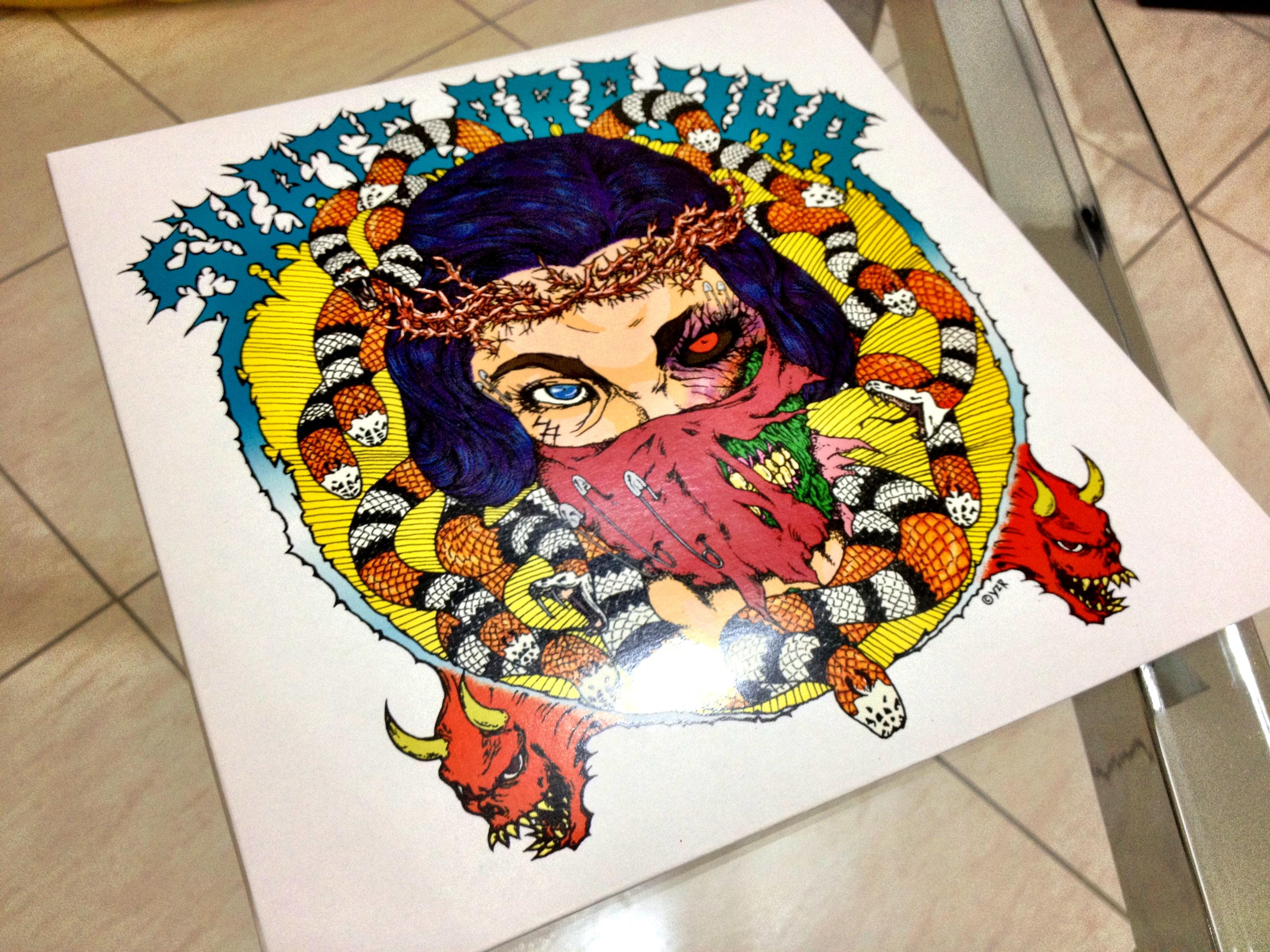 Skate Aranha - Evil & Dead
