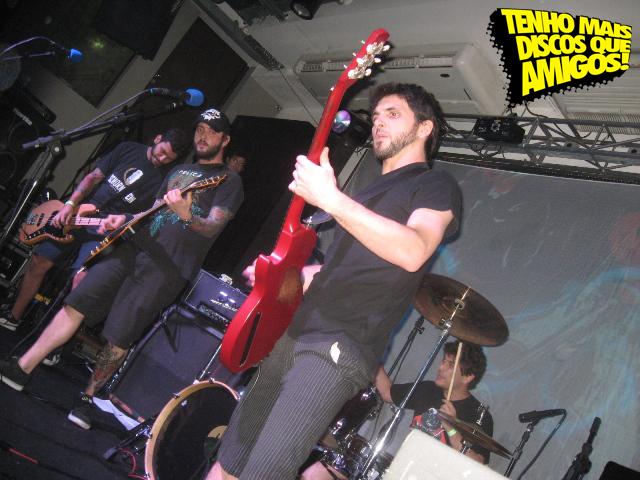 Zander no Lançamento do Split Chumbo, No Rio de Janeiro (01-03-12)