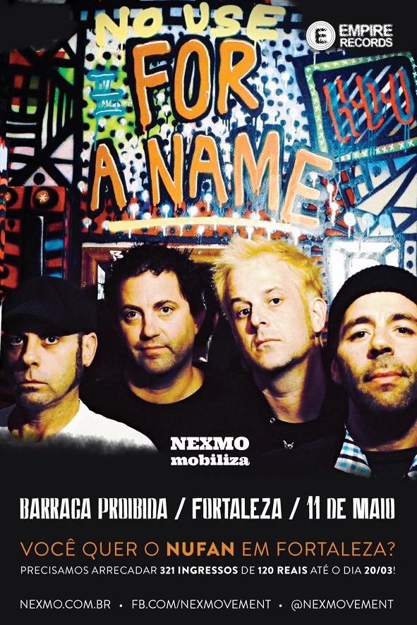 No Use For A Name em Fortaleza