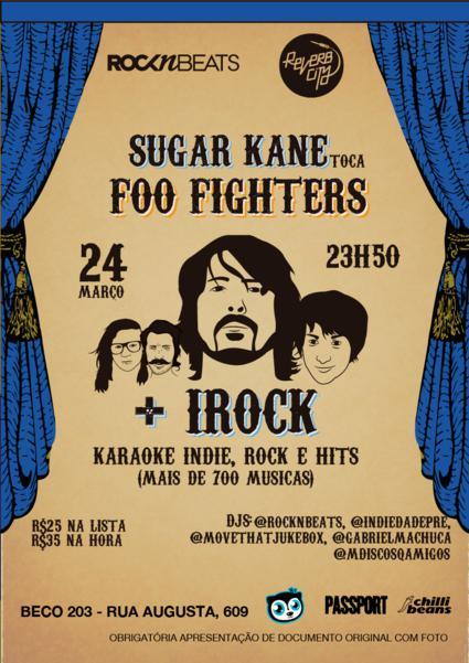 Sugar Kane toca Foo Fighters