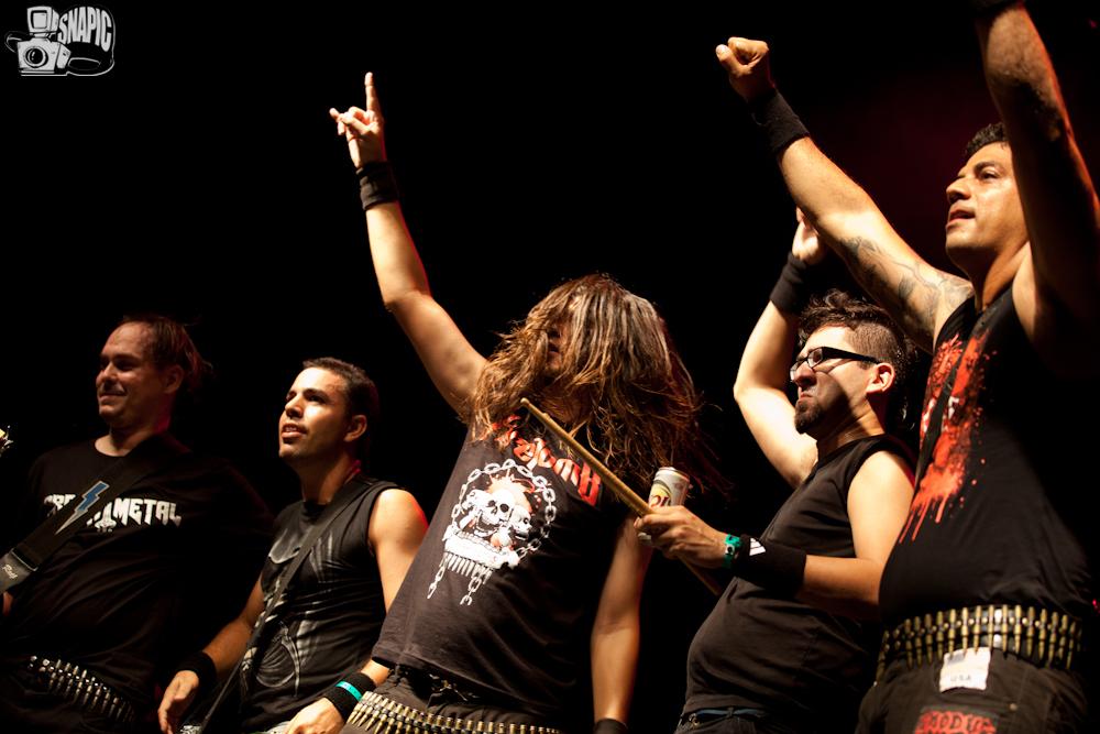 Firetomb no Abril Pro Rock 2012