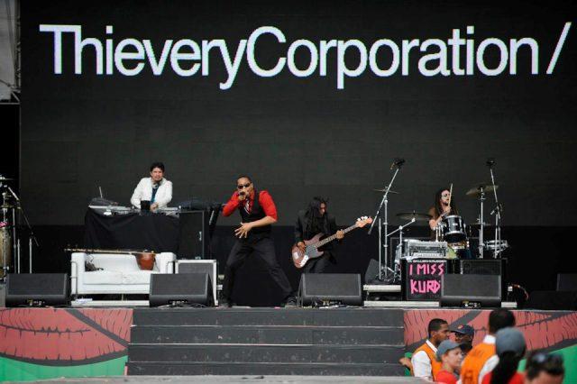 Thievery Corporation no Lollapalooza Brasil