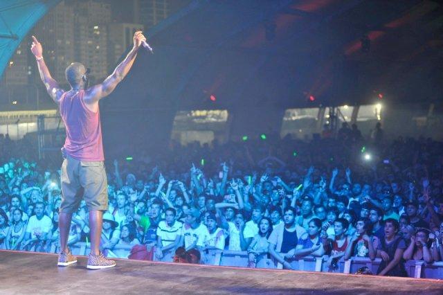 Tinie Tempah no Lollapalooza Brasil