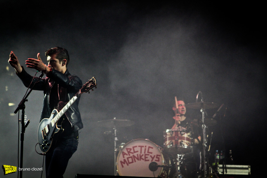 Arctic Monkeys no Lollapalooza Brasil