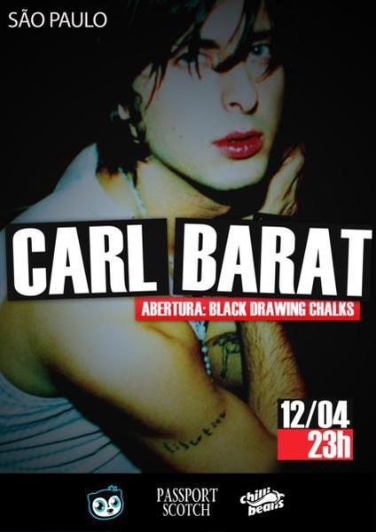 Carl Barat em São Paulo