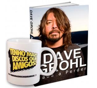 Caneca TMDQA! e Biografia de Dave Grohl