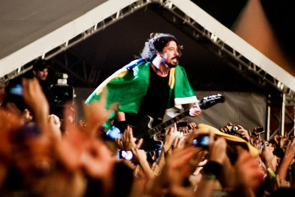 Foo Fighters no Lollapalooza Brasil