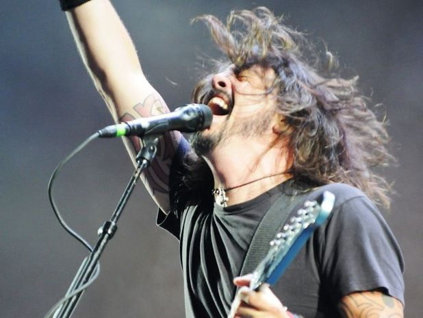 Foo Fighters no Quilmes Rock