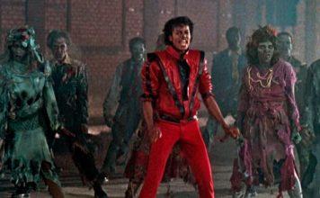 Michael Jackson no clipe de Thriller