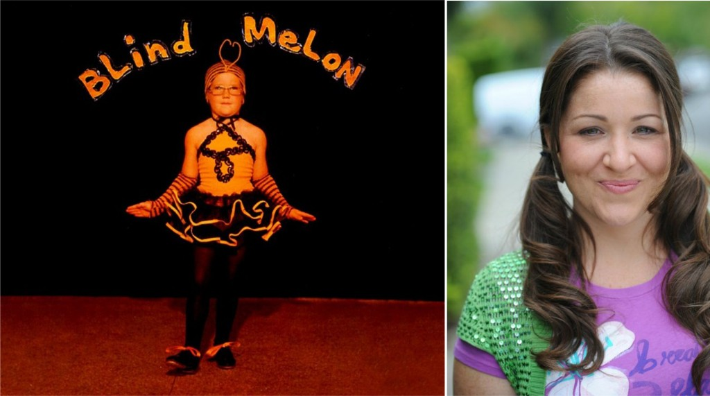 A abelinha na capa do disco do Blind melon