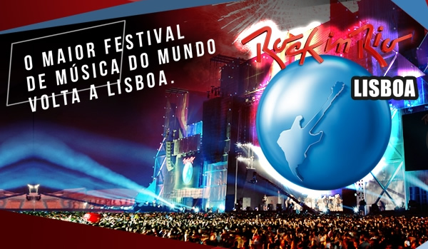 Acompanhe o Rock in Rio Lisboa 2012 Ao Vivo
