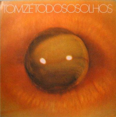 Capa do disco todos os olhos de Tom Zé