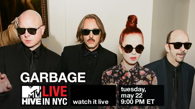 Garbage Apresenta Seu Novo Álbum em Nova York