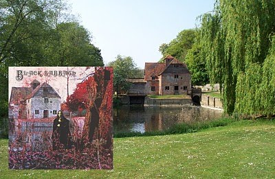 Moinho Mapledurham foi a capa do primeiro álbum do Black Sabbath