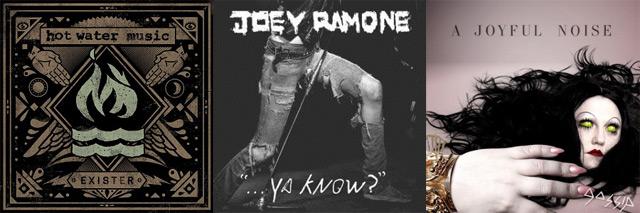 Vazou! Hot Water Music, Joey Ramone, Gossip
